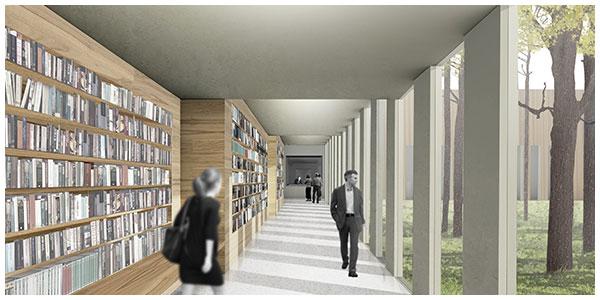 Library-Corridor