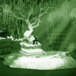 into the woods set rendering