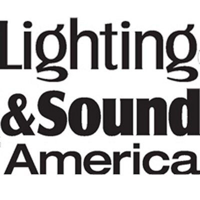 Lighting & Sound America Magazine logo