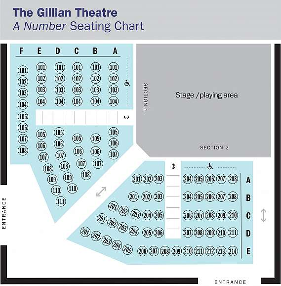 Seating Map for A Number