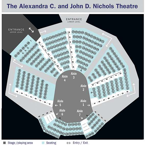 Nichols seating map