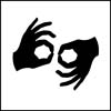 ASL-Interpretation symbol