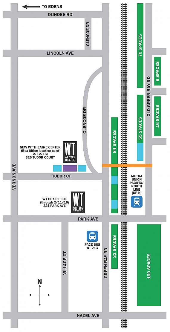 Parking Map for Arcadia image